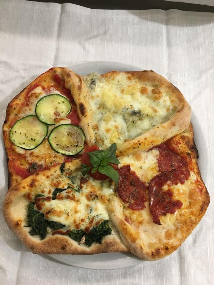 Immagine Pizza 4 gusti Gourmet
